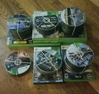 Lot of 267 Xbox 360 Games Gears C.O.D. Halo Assassin's Creed Battlefield *READ