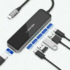 LENTION USB C Hub Type C to HDMI USB 3.0 PD Charger Adapter for MacBook Pro