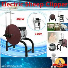 110V Electric Sheep Clipper Blade Sharpener Wool Scissors Knife Grinding Machine