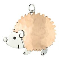 HEDGEHOG PENDANT 925 Sterling Silver & Copper FAR FETCHED Handmade - Gift Boxed