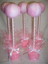5 Sweet arbres Kits comme sur la photo en rose bébé table center Mariage Baptême