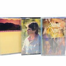 Cassette tape music hit song vtg mix lot religious bestor new life God Jesus