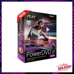 ✅CyberLink PowerDVD 20 Ultra - Full Version - LifeTime✅