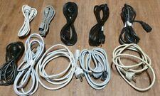 10 Stück Netzkabel Kaltgerätestecker
