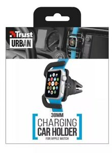 1 38mm Trust Urban In Car Vent Mounted Apple Watch Holder Cradle Allows Charging