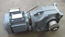 SEW-EURODRIVE K67 DRS90M4/DH 1.5KW 2 HP 230/460 MOTOR GEARBOX COMBO REBUILT