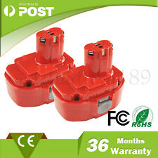 2 PCS Battery for Makita PA18 1822 192827-3 192826-5 8390D 8391D Ni-Cd 18V 1.3Ah