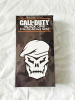 Call Of Duty Black Ops Card Game Free for All Family Night Fun Activision