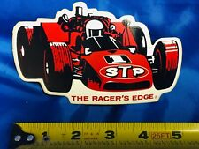 Indianapolis Indy 500 1970 ORIGINAL Large Promo Decal STP MARIO ANDRETTI Car