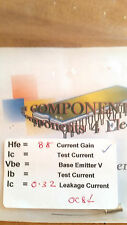 OC84 testé germanium transistor 88/0.32