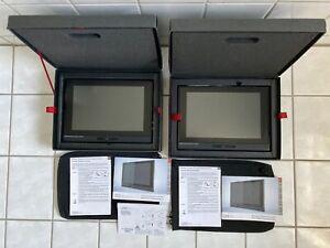 2x Original Audi Rear Seat Entertainment-4M0051700E-A4-A5-S5-A6-A7-RS4-RS6-RS7-
