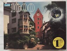 Guild Meersburg Germany 1000 Piece Jigsaw Puzzle Vtg 1999 Hasbro Sealed NIB