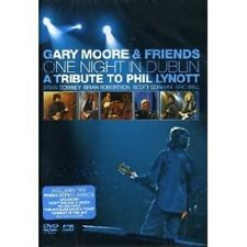 "GARY MOORE & FRIENDS ""ONE NIGHT IN DUBLIN: A TRIBUTE TO PHIL LYNOTT""  DVD NEU"