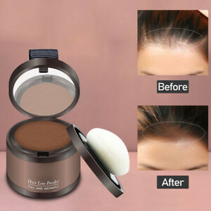 Natural Hair Line Root Shadow Powder Hairline Cover For Makeup Instant Concealer