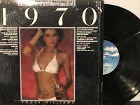Roger Williams – The Music Of The 1970's LP 1983 MCA Records – MCA2-4180 EX/EX