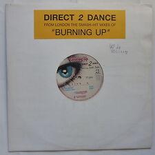 "MAXI 12"" DIRECT 2 DANCE Burning up Feat RACHEL TAYLOR 190891 1"