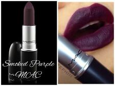 MAC Matte Lipstick ** SMOKED PURPLE ** New in Box - 100% AUTHENTIC & VERY RARE!!
