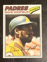 1977 Topps Dave Winfield Card #390 EX HOF San Diego Padres