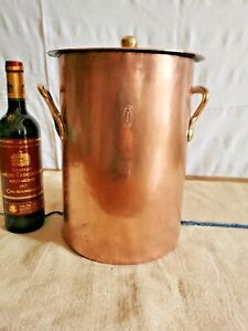 Rare Early Original Dehillerin StockPot, Over 110 Years Old