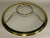 "New 10"" Fitter Solid Brass Shade Ring Holder For Top Gallery of Aladdin Burner"