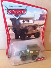 "DISNEY CARS DIECAST - ""Sarge - Desert Card 16 Back"" - Combined Postage"