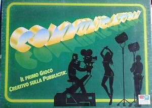 COMMUNICATION 1990 EDITRICE GIOCHI gioco di società 3-6 giocatori anni 10+