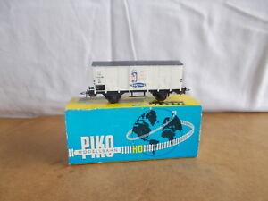 Ancien wagon vintage - PIKO HO - Wagon couvert FS Italia BERTOLLI - 60/70s