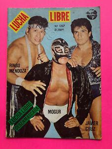 Mexican Lucha Libre wrestling Magazine RINGO MENDOZA MOGUR  #1267 5 Jul 1988
