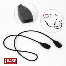 Silicone Eyewear Glasses Strap Reading Sport Band Cord Holder Spectacle Flat End