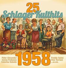 CD 25 Schlager Kulthits 1958 von Various Artists