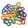 100 Durable Plastic Counting C Chain C-Links - Parrot Bird Toy Parts