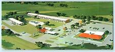 NEW STANTON, Pennsylvania ~ HOWARD JOHNSON'S Motor Lodge Roadside Long Postcard
