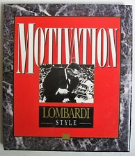 Motivation Vinc Lombardi Style signed Bob Christian NFL Chicago Carolina Atlanta