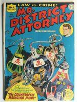 MR. DISTRICT ATTORNEY #5 * GOLDEN AGE COMICS * 1948 DC COMICS * LAW * CRIME