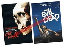 The Evil Dead Complete Horror Movies 1 & 2 DVD Set Film Collection 1981 1987 Box