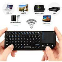 Mini Rii Mini X1 Funk Tastatur Touchpad Maus Kabellos Tastatur Für PC Smart