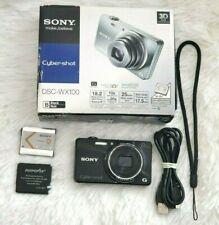 Sony Cyber Shot DSC-WX100 18.2 Mega Pixels 10x Optical Zoom 20x Clear Image Zoom