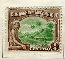 Mint Hinged Portuguese Mozambique Stamps