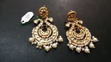 Multicolor beautiful Women Indian Kundan Pearl Party Wear kundan jewlery set