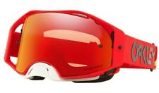 Oakley Airbrake Heritage Stripe Red Motocross Goggles PRIZM Torch Lens Adults