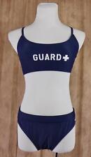 SPORTI~Sz XL~Guard Y-Back Workout Bikini Set~NWT~Navy Blue