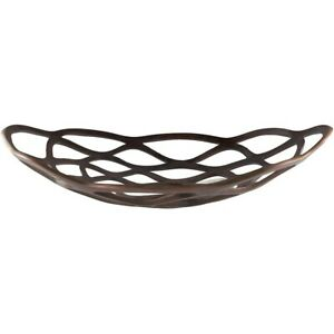 Oriana Decorative Bowl by Surya, Aluminum - ORA-001