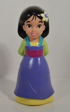 "5"" Mulan Squeeze Bath Pool Water Toy PVC Figure Doll Disney Parks Princess"