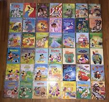 LOT OF 42 WALT DISNEY Used A LITTLE GOLDEN BOOK HARDCOVER KID BOOKS Some Vintage