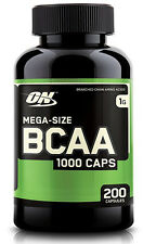 Optimum Nutrition  BCAA 200 Count Strength & Recovery Aid - Amino Acid Health