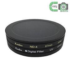 82mm UV CPL ND Lens Filter Protection Case Box for Kenko Hoya/Metal 82 Lens Cap