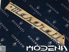 Maserati Schriftzug Kofferraum Trunk Emblem Sign Quattroporte QP VI 2013 34 cm