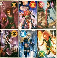 🔥 X-Men #1, #2, #3, #4, #5 & #6 EXCLUSIVES from Jay Anacleto and Lucio Parillo