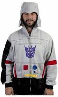 Transformers Mens Megatron Cosplay Costume Hoodie New M, L