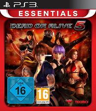 SONY PS3 Dead Or Alive 5 PlayStation 3 deutsch gebreaucht OVP günstig